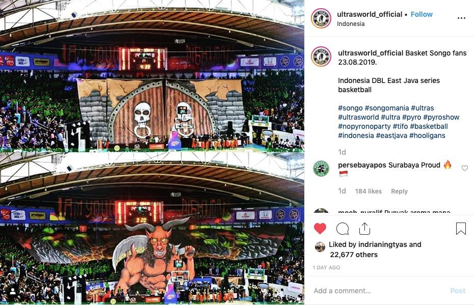 Koreo Dahsyat Songomania Terpantau Ultras World Dbl Id