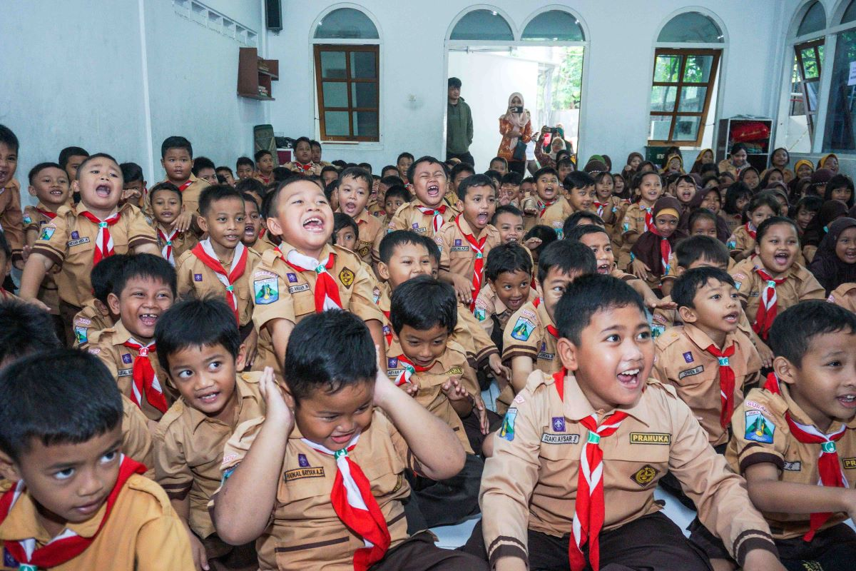 SDN dr. Soetomo V Surabaya Dukungan Penuh Siswanya Ikut ...